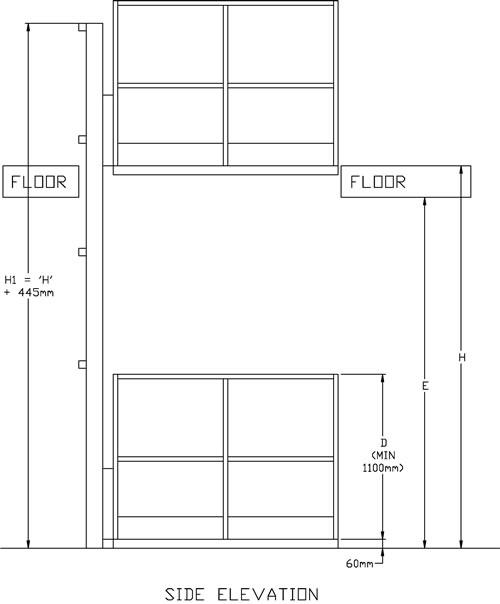 Mezzanine Floor Lift, Goods Lift