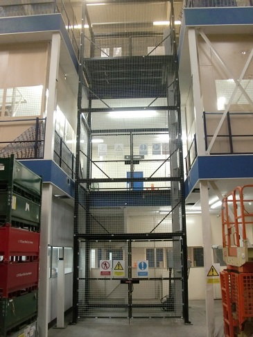 Goods Lift installed in Birmingham
