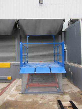 Loading Bay Scissor Lift Table