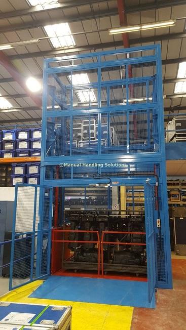 Heavy Duty Mezzanine Goods Lift London