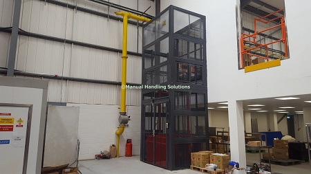 Mezzanine Goods Lifts in London