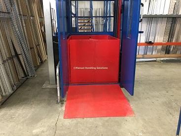 Mezzanine Floor Goods Lift Bedford