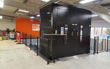 Mezzanine Goods Lift Bicester Oxfordshire