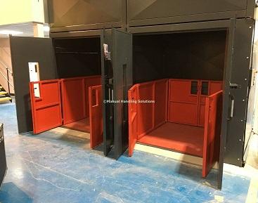 Twin Mezzanine Goods Lifts Basingstoke