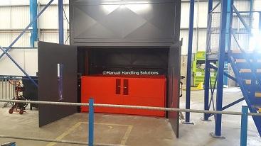 Mezzanine Goods Lifts Leeds