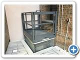 Split Level Scissor Lift Table