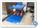 End of line Scissor Lift Tables