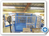 Goods Lift installed at Johnnie Longden Ltd