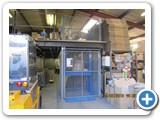 Dorset Goods Lift installed