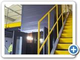1000kg Cladded Mezzanine Goods Lift