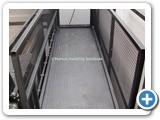 Mezzanine Goods Lift oversized platform