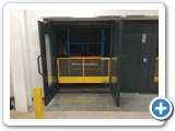 Mezzanine Goods Lift Enclosed Platform Peterborough