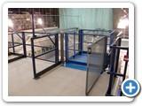 Mezzanine Floor Lifter- Fisher BioServices UK Goods Lift - Bishops Stortford