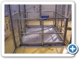Mezzanine Floor Lift installed at Magna Specialist Confectioners Ltd, Telford