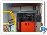 Mezzanine Goods Lift Pallet Gate Newark