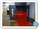Mezzanine Goods Lift Twin Platform Gates
