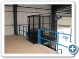 Mezz Lift, Goods Lift, installed at Boots Warehouse, Thurrock