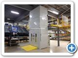 Mezzanine Goods Lift Installation Rushden
