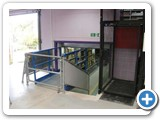 Three Stop MezzLift Floor Lift installed at Bryant Broadcast, Croydon