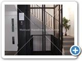 MezzLift installed at GCI SmartBunker 500kg by Manual Handling Soluions