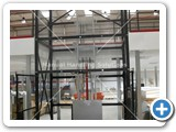 Goods Lift 1000kg installed in London by Manual handling Solutions