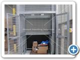 galvanised goods lift 2000kg