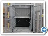 goods lift galvanised_lower doors