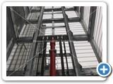 goods lift mast galvanised 2000kg