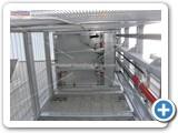 goods lift shot bolts galvanised