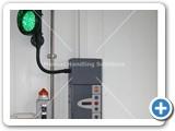 upper level door control trafic light