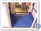Split Level Goods Lift  installed in London ny MHS