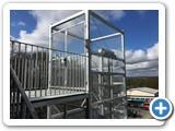 External Mezzanine Goods Lift