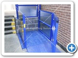 goods lift dock level Manual Handling Solutions