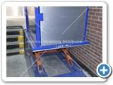 goods lift split level